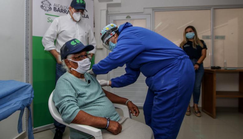 Van 8.234 vacunados contra la covid-19 en el Atlántico