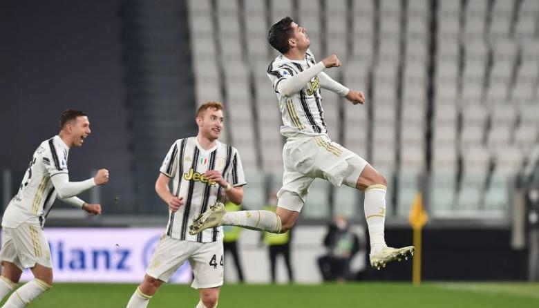 Morata da vida a la Juventus