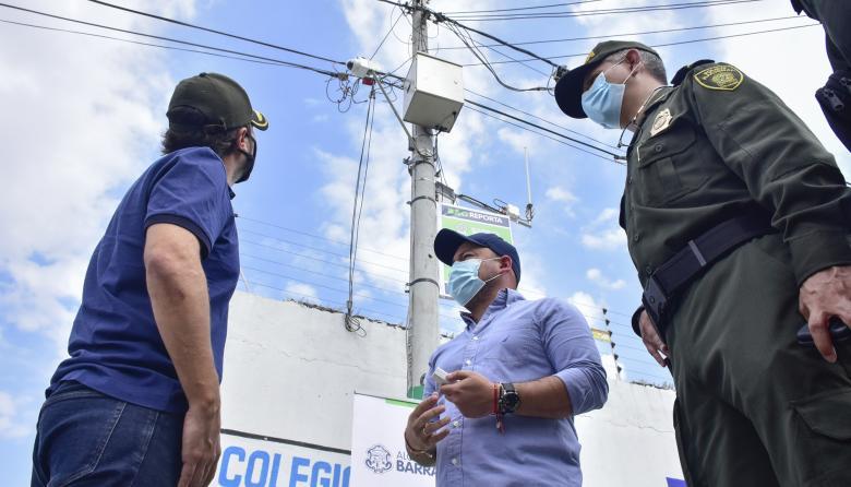 Alarmas comunitarias en barrios de Barranquilla para frenar los delitos