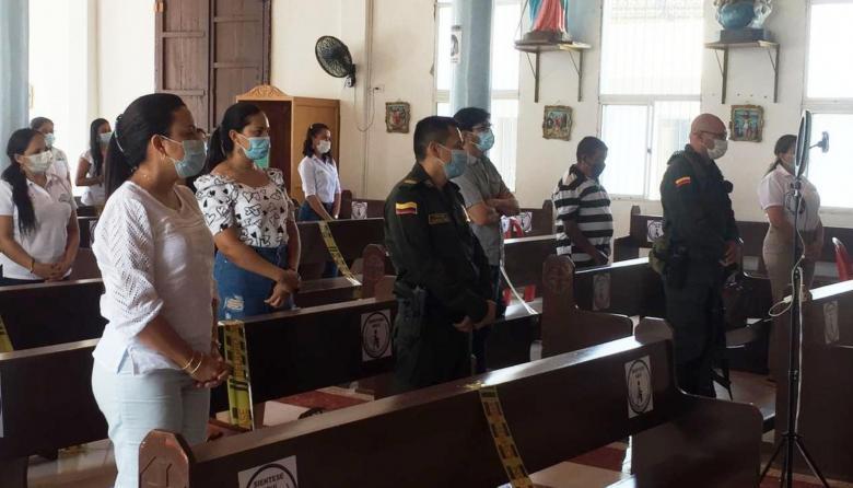 """Conmemoran 25 años de la muerte de 11 policías por un """"burro-bomba"""""""