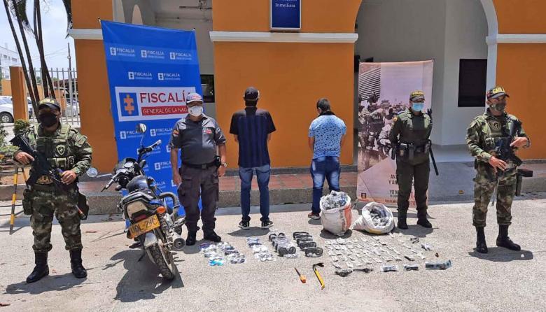 Capturan a presuntos extorsionistas en Montería