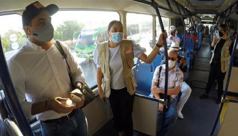Pasajeros de Transcaribe viajan gratis en Cartagena por problemas en recaudo
