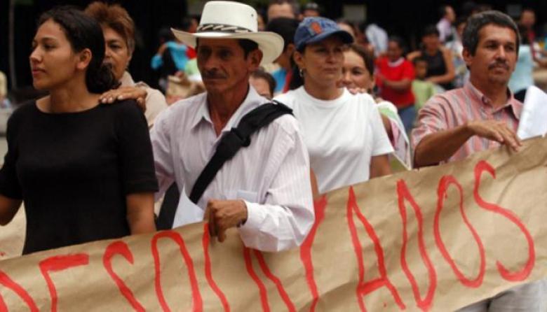 Cada media hora una persona es desplazada en Colombia: JEP