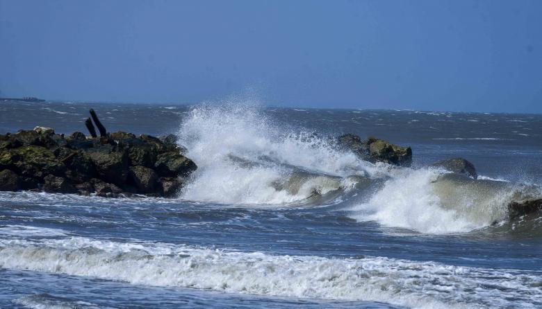Nueva alerta roja por las fuertes brisas en la Costa