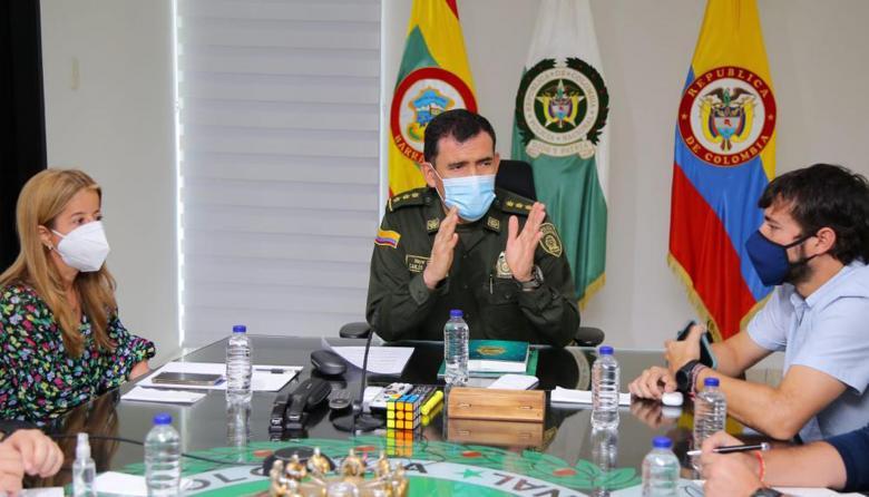 Gobernadora anuncia llegada de 20 carabineros al Atlántico