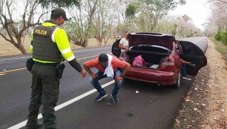 Más de 48 mil vehículos se han movilizado por vías de Sucre en Semana Santa