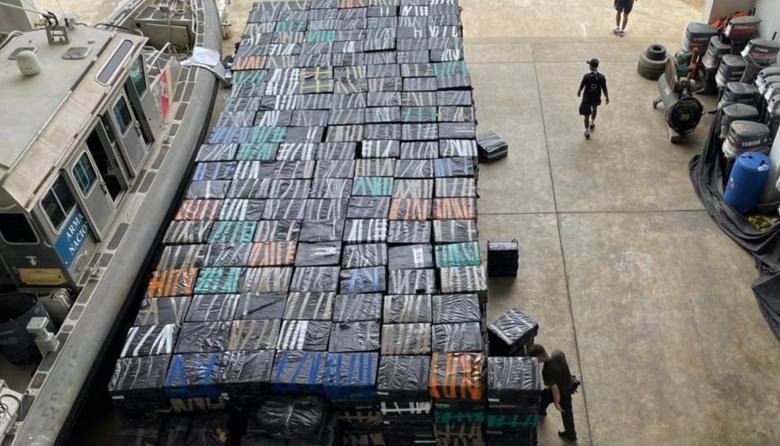 Incautan en el Golfo de Morrosquillo contrabando de cigarrillos