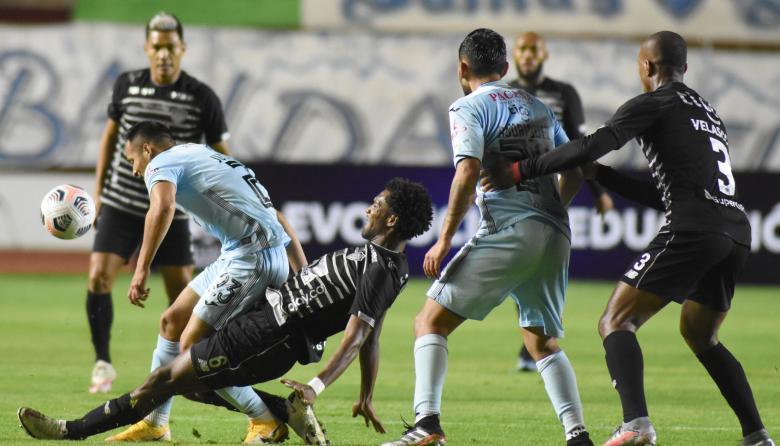 Junior vs Bolívar por Copa Libertadores tercera ronda - partido 1
