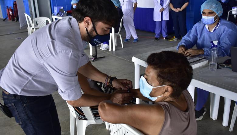 Distrito ya aplicó 100 mil vacunas en Barranquilla