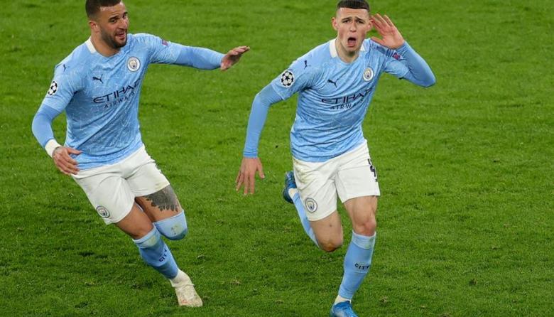 Manchester City clasifica a semifinales de la Champions