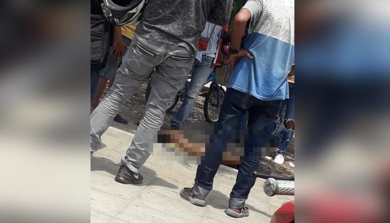 Fallece hombre en el Centro de Barranquilla