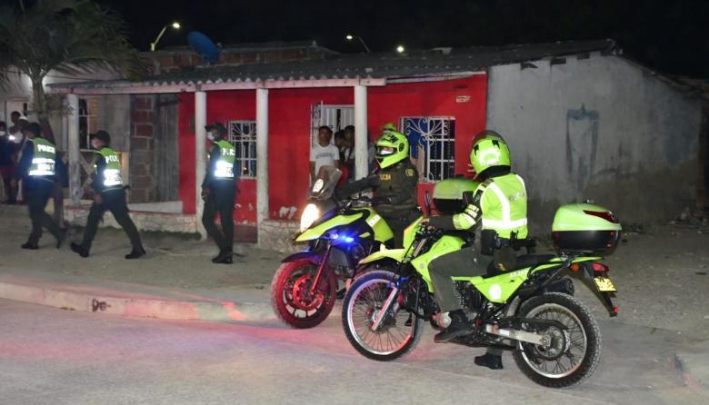 Mil policías vigilarán cumplimiento de medidas en el Atlántico