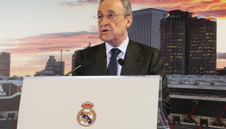 Florentino Pérez lamenta los insultos recibidos por la Superliga