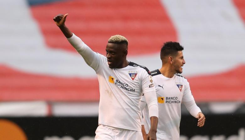 Cristian Martínez Borja anota dos goles en Copa Libertadores