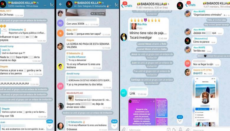 Investigan extorsión con fotos intimas en redes con chat llamado Babados Killa