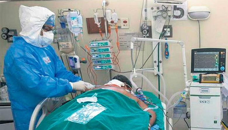 Santa Marta reporta 93 por ciento de ocupación en camas uci