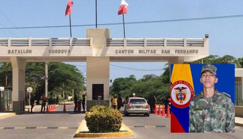 Soldado murió baleado por su lanza en Santa Marta