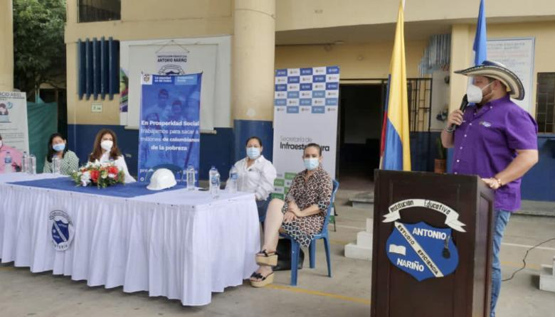 Destinan inversión para mejorar infraestructura escolar en Montería