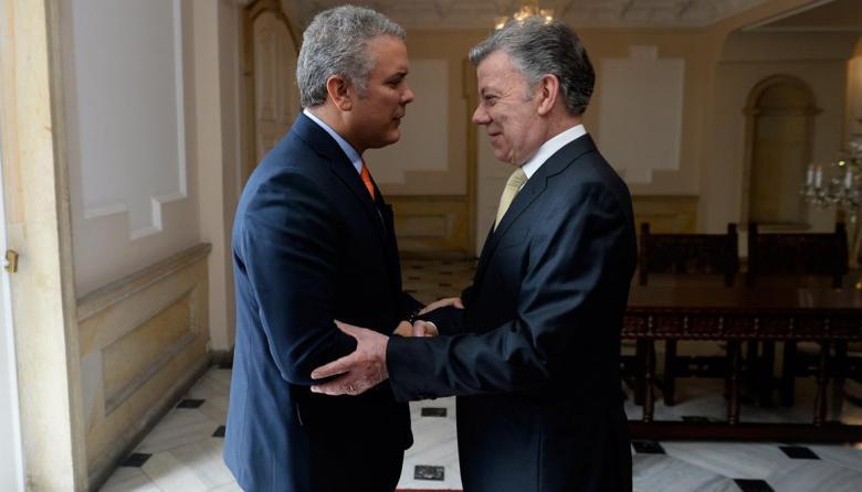 Expresidente Santos le pide a Duque que dialogue con manifestantes