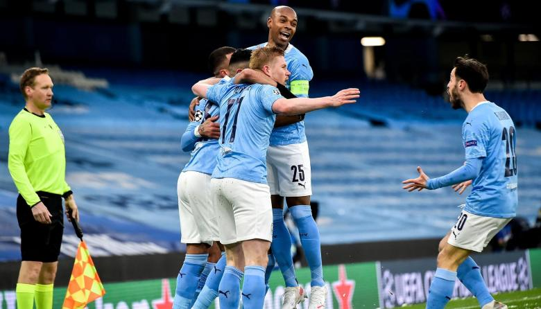 Manchester City, primer finalista de la Champions
