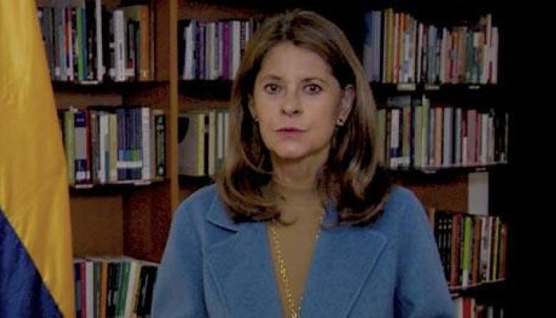 Marta Lucía Ramírez invita a colombianos a reflexionar y frenar ataques
