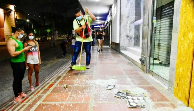 Intergremial Atlántico rechaza actos de vandalismo
