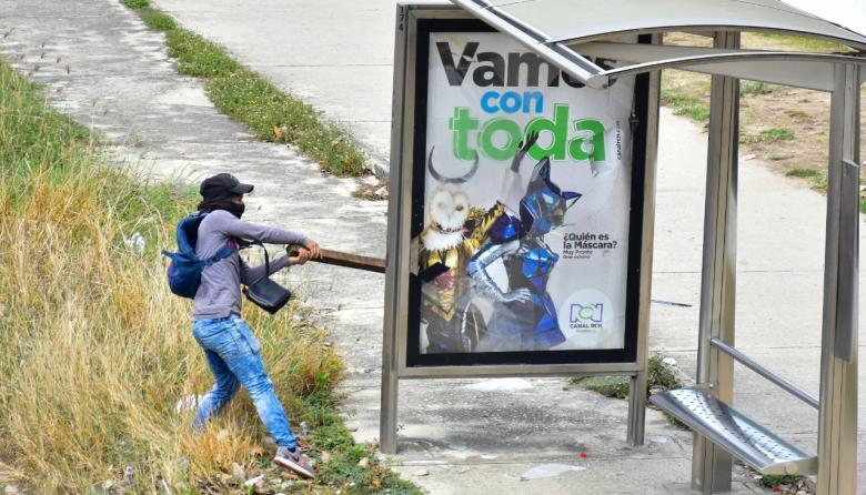 Pistas para dar con los autores del vandalismo