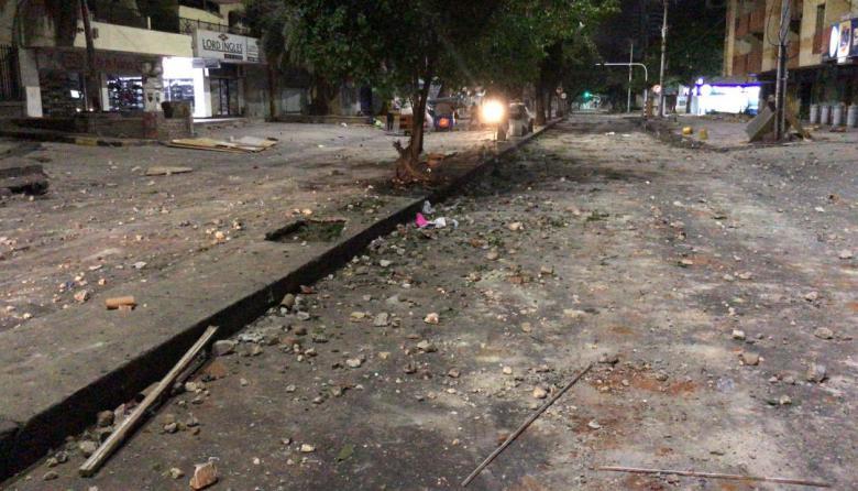 Más de 6 toneladas de escombros recogió Triple en la calle 72
