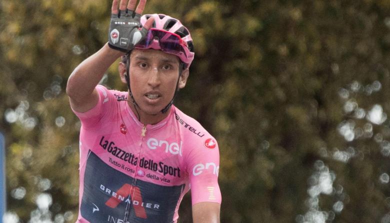 Declaraciones de Egan Bernal tras la etapa 12 del Giro de Italia
