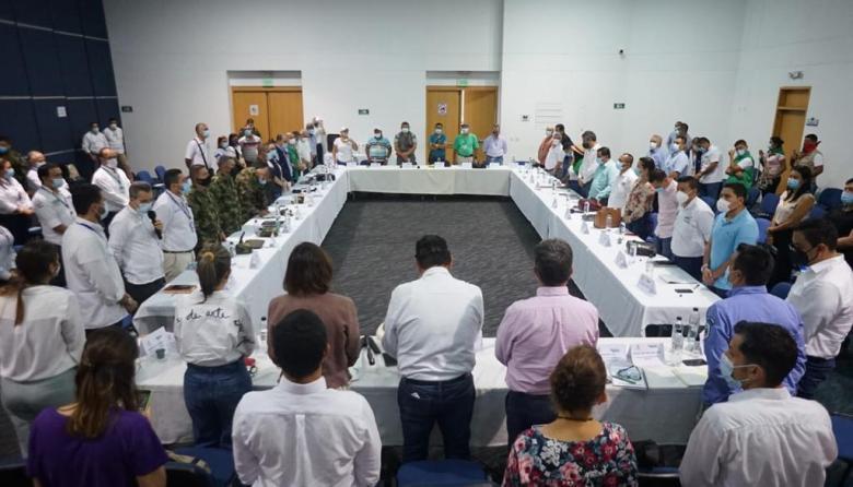 Así van las mesas de diálogo regional  del Gobierno