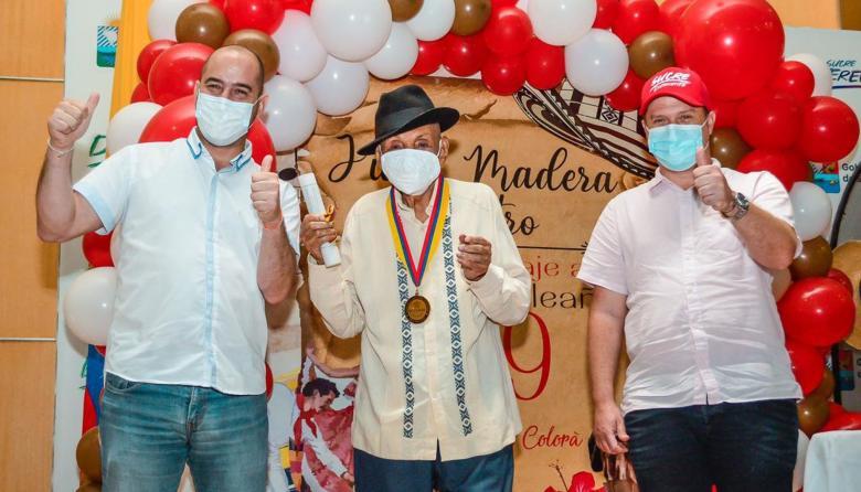 Realizan homenaje al maestro Juan Madera, autor de La Pollera Colorá