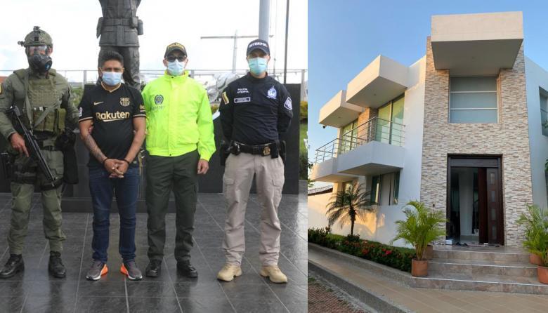 Cae en Barranquilla 'narco' que era buscado por Interpol