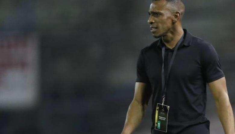 Luis Amaranto Perea tras el Santa Fe vs. Junior por Copa Libertadores