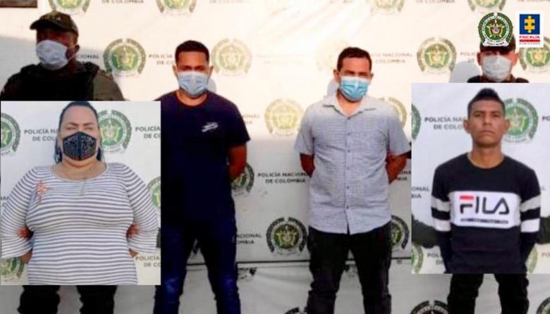 Capturan a cuatro presuntos integrantes de la red delictiva 'Los Cuenta'