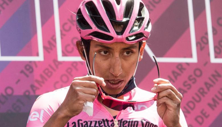 Egan Bernal sobre la etapa 17 del Giro de Italia