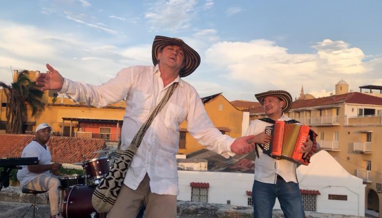 El saludo colombo-noruego a Bob Dylan en ritmo vallenato