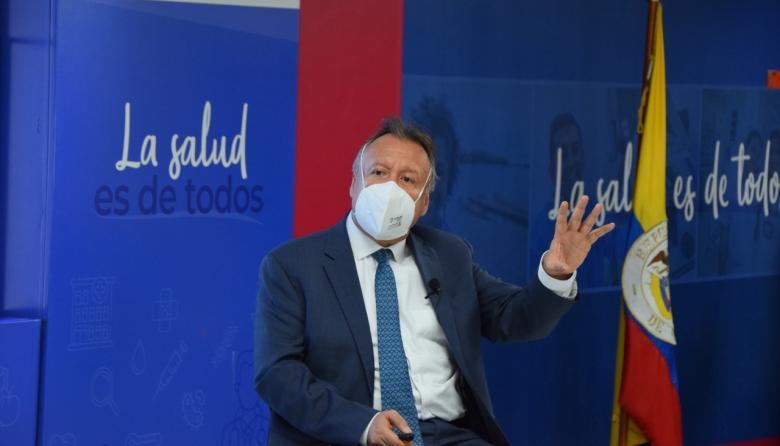 """""""Colombia vive el pico de la covid-19 más alto"""": Moscoso"""