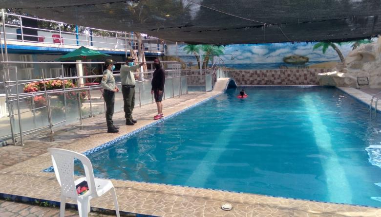 Policía del Atlántico le pone la lupa a balnearios y piscinas