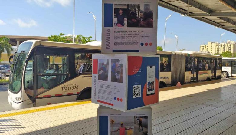Transmetro realiza exposición fotográfica en la estación Joe Arroyo
