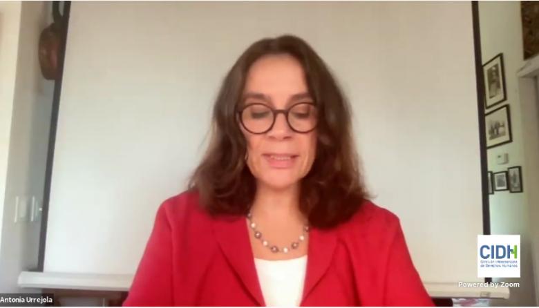 """""""En ningún momento la CIDH respalda la violencia"""": Presidenta de la Comisión"""
