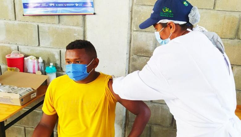 Sucre-Sucre ya inició la jornada integral de vacunación contra la covid-19