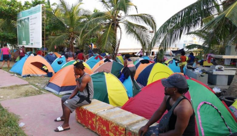 Necoclí, nuevamente, en alerta por represamiento de migrantes