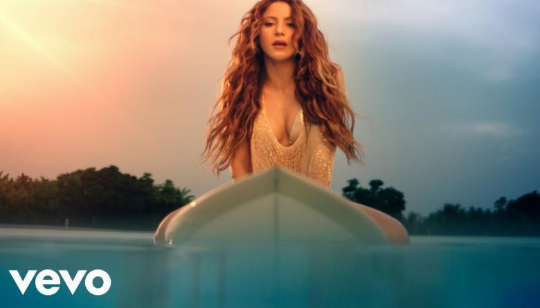 Shakira estrena 'Don't Wait Up' su canción de verano