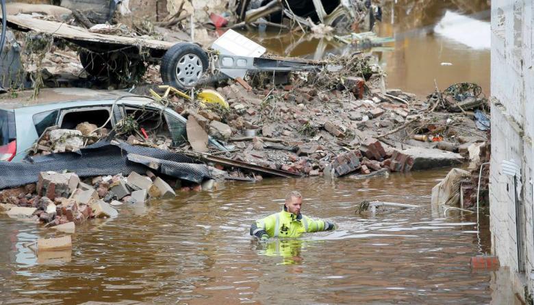 Aumentan a 31 los muertos por las inundaciones en Bélgica