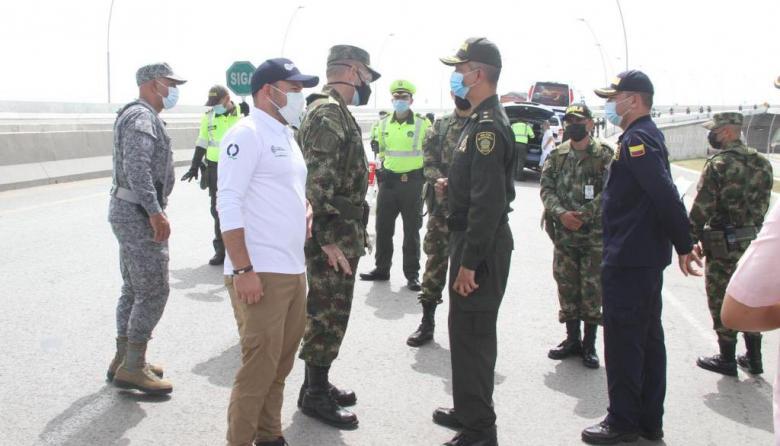 Miembros de 'Primera Línea' de otras ciudades han venido a la ciudad: Policía