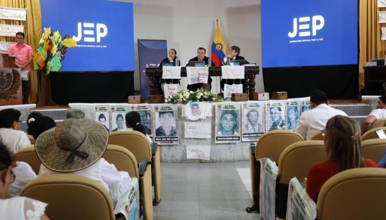 JEP programó audiencia de seguimiento a medidas decretadas para San Onofre