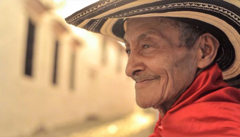 El fallecido Juan Chuchita, un gaitero moderno