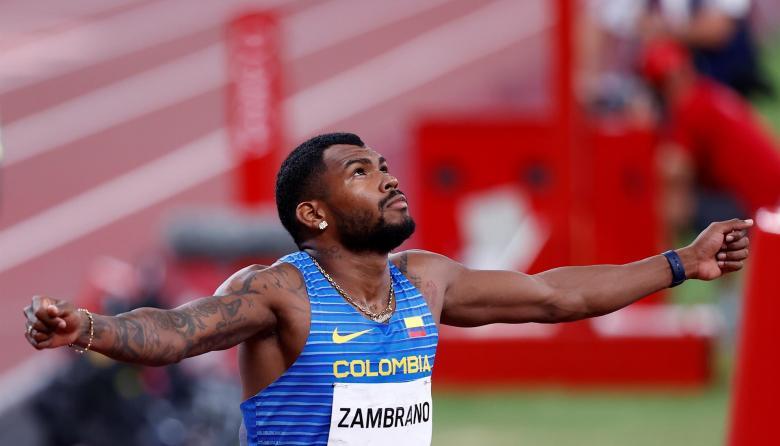 Anthony Zambrano le dedicó su medalla en los Juegos Olímpicos de Tokio a su mamá