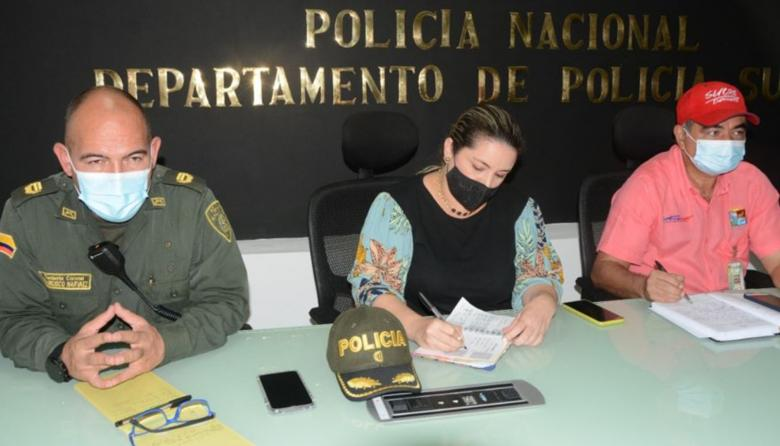 Intervendrán cinco municipios de Sucre para mejorar la seguridad