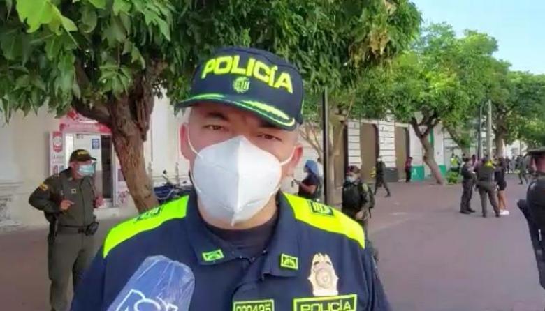 Lo mejor que puede hacer es presentarse: Policía Metropolitana de Santa Marta